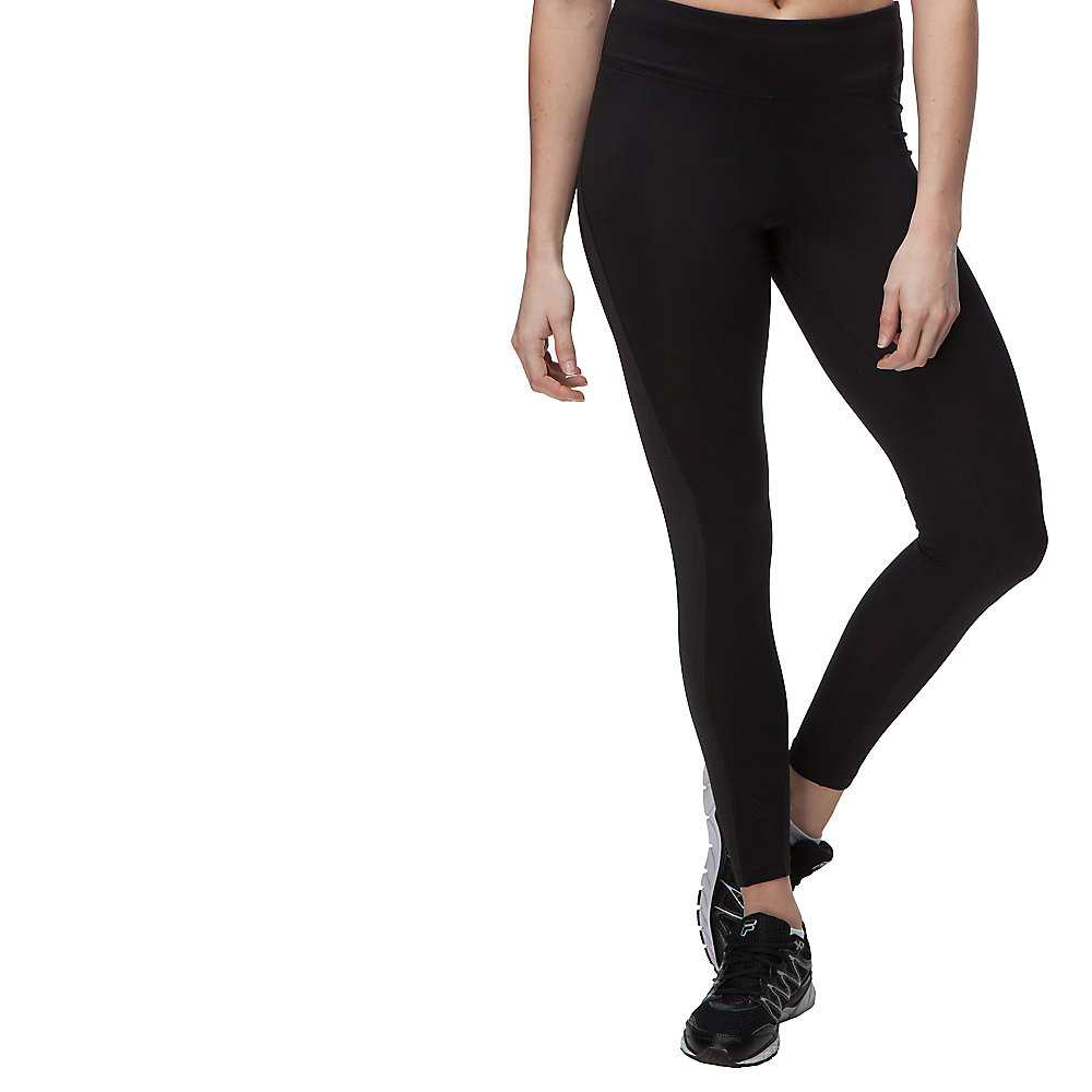 herringbone legging in black