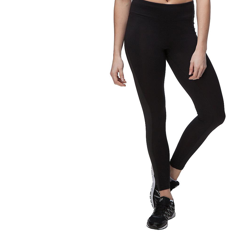 herringbone legging in black