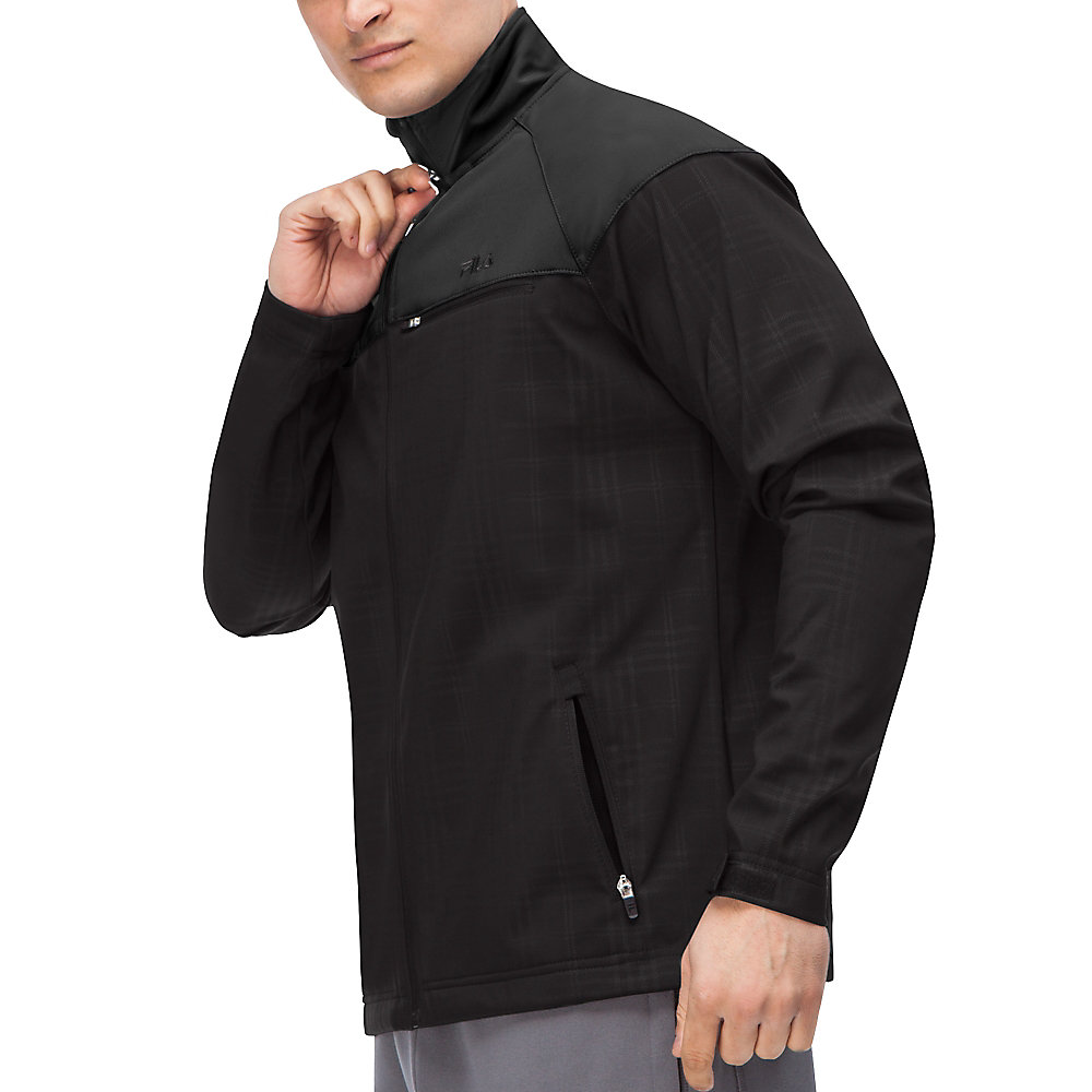 elevation jacket in black