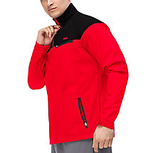 elevation jacket in red
