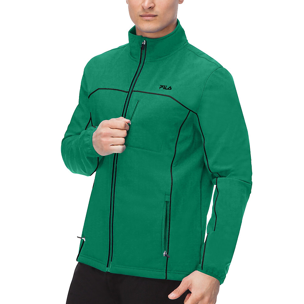 adventure jacket in emerald