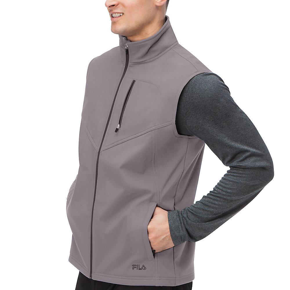 tech vest in ash