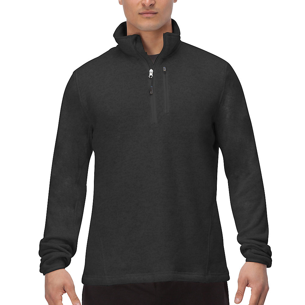 sweather half zip in storm