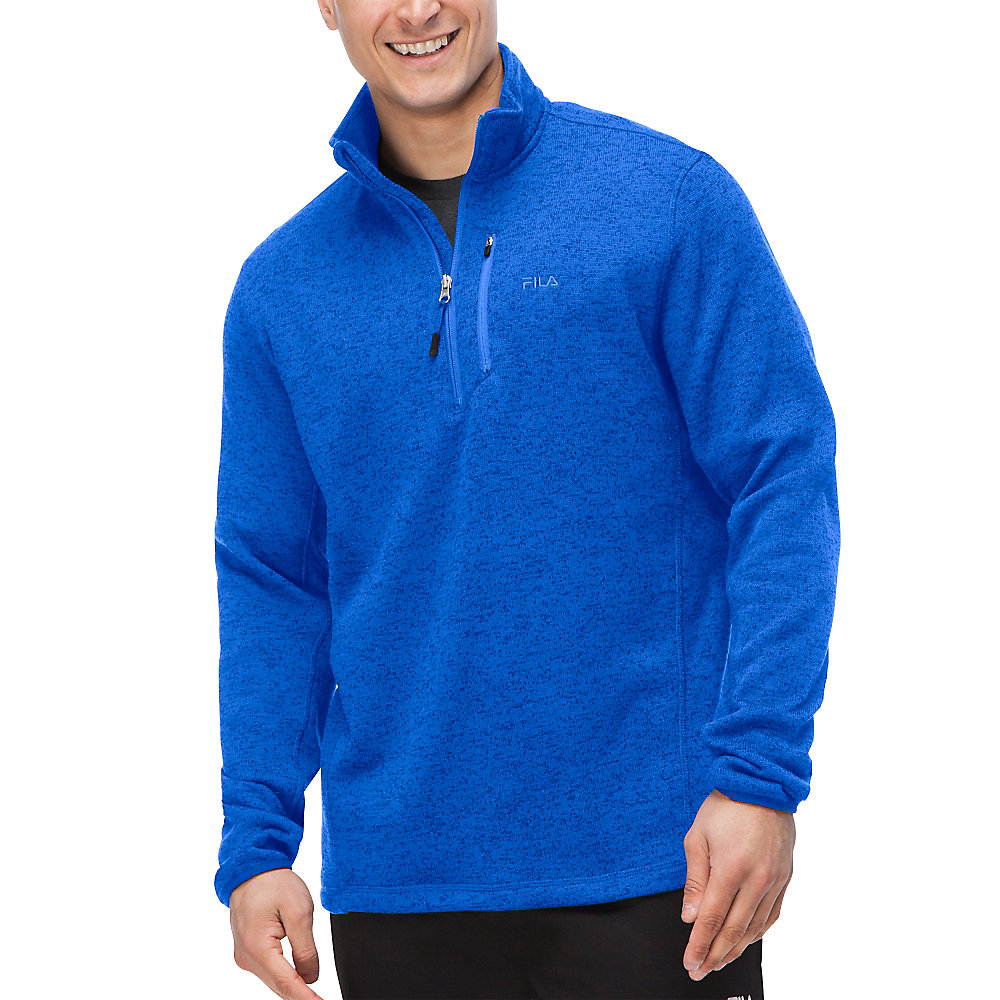 sweather half zip in nauticalblue