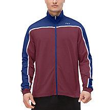 front row jacket in magenta