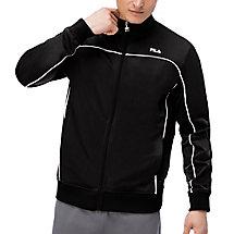 score jacket in black