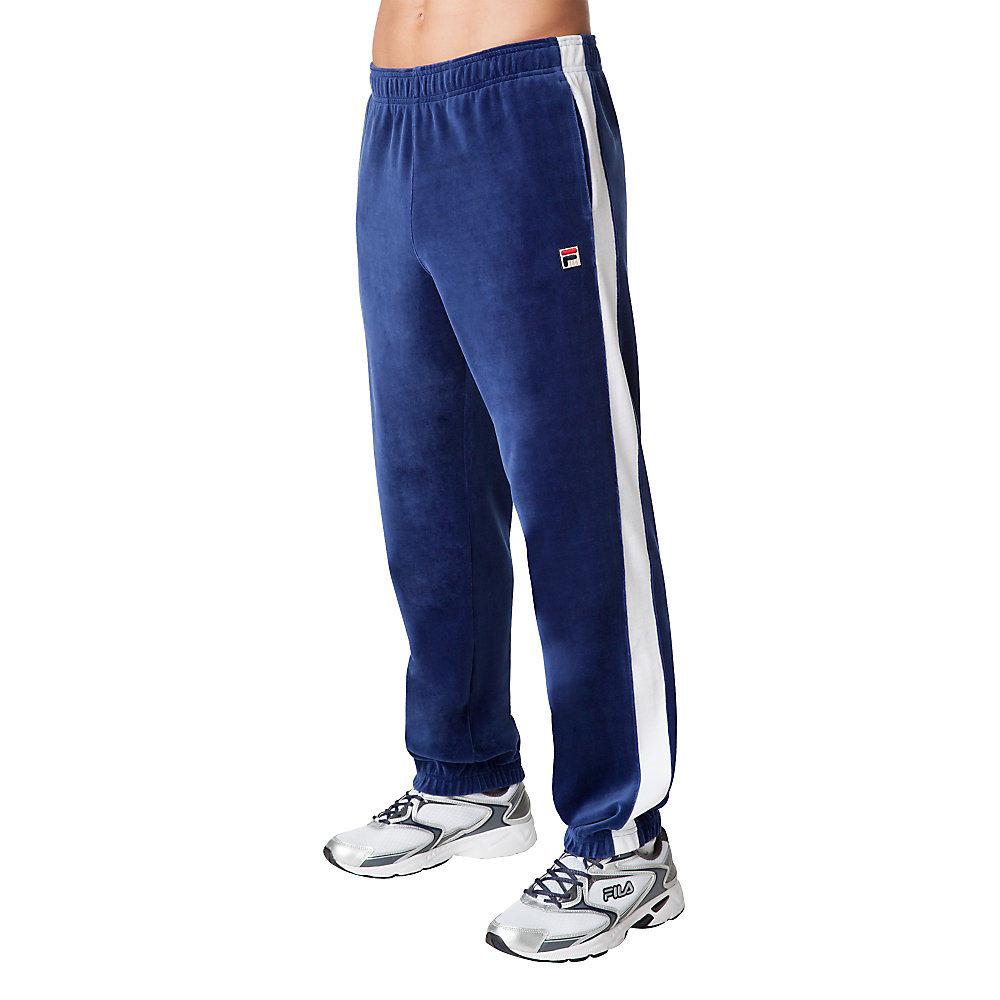 old school pant in cobalt