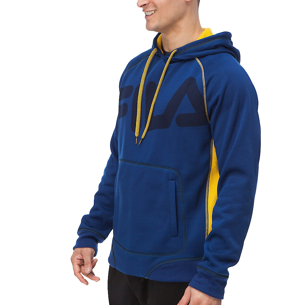freestyle pullover in cobalt