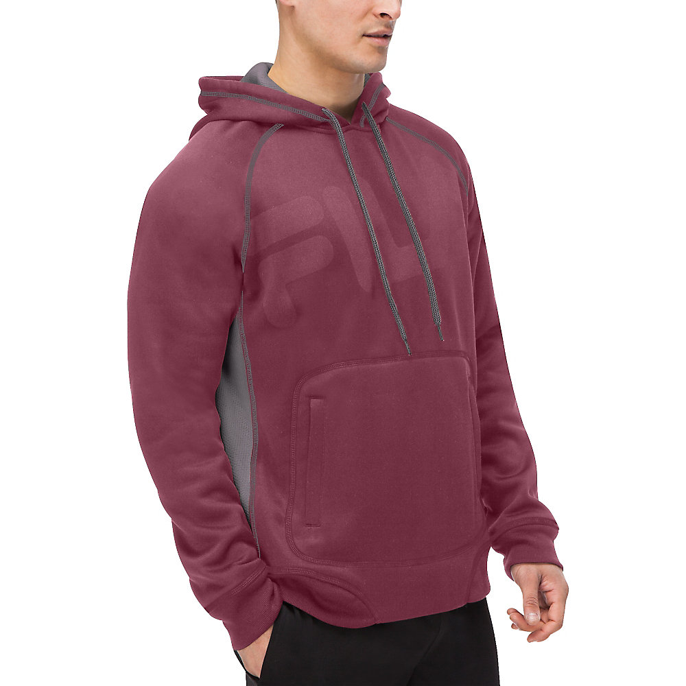 freestyle pullover in magenta