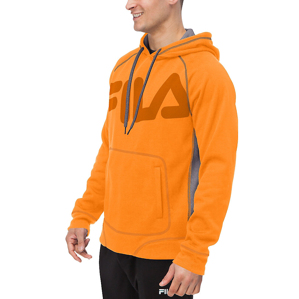 freestyle pullover in orange