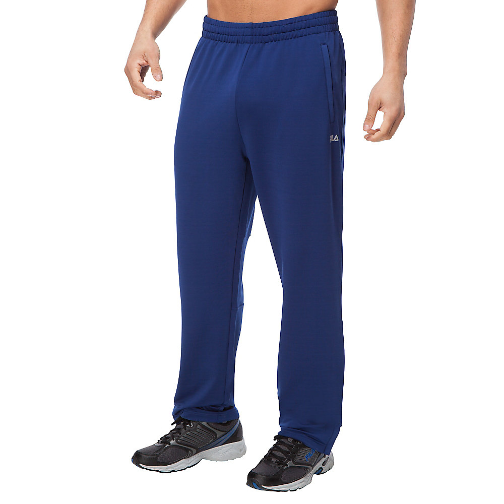 performance trackster pant in cobalt