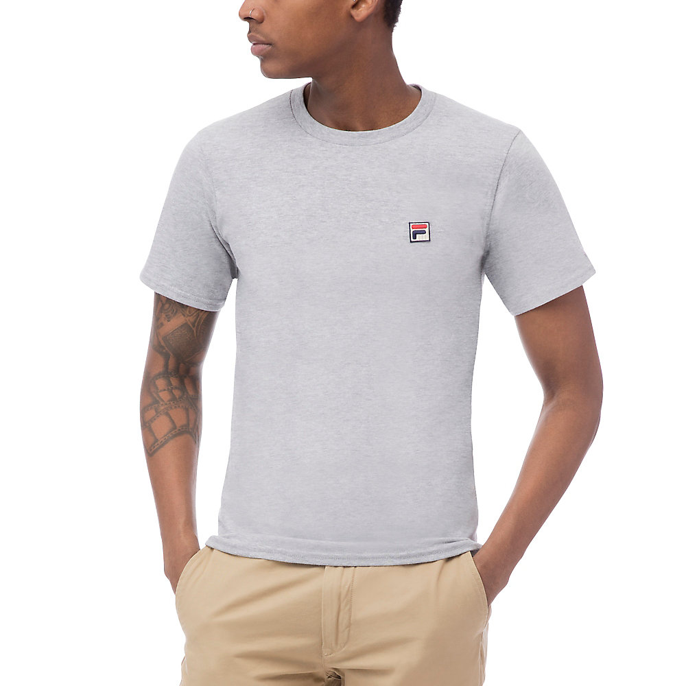 f box tee in grey