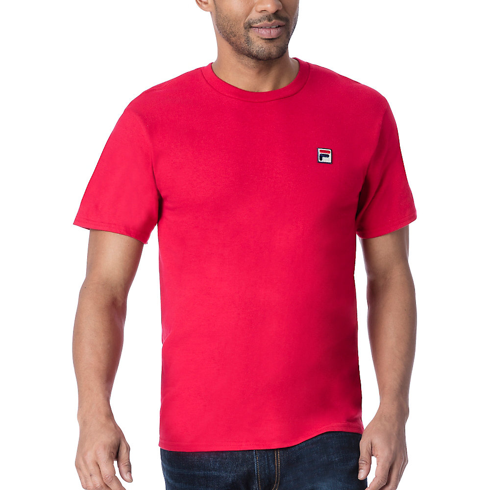 f box tee in red