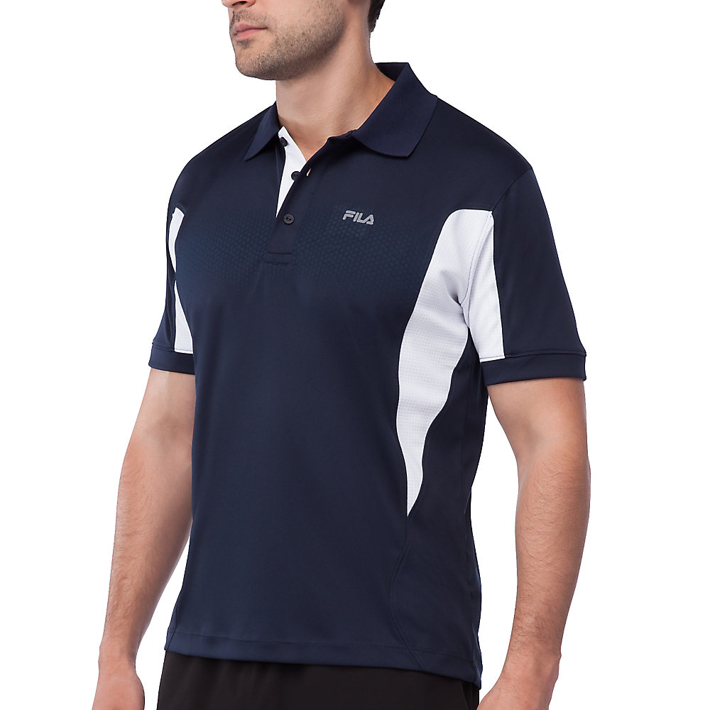 depth polo in navy