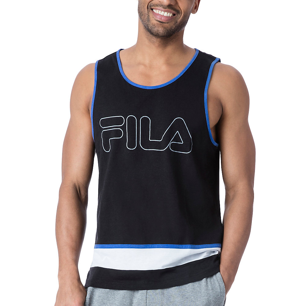retro tank in black