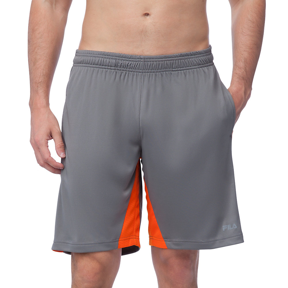 pure energy short in grey