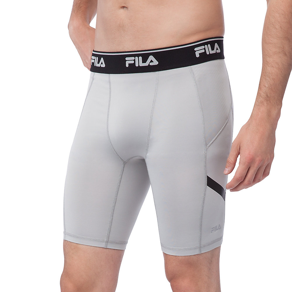 endurance compression short in grey
