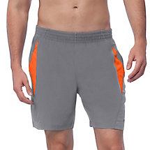 relay short in grey