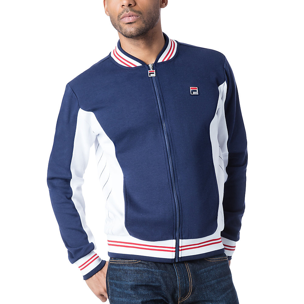 settanta jacket in navy