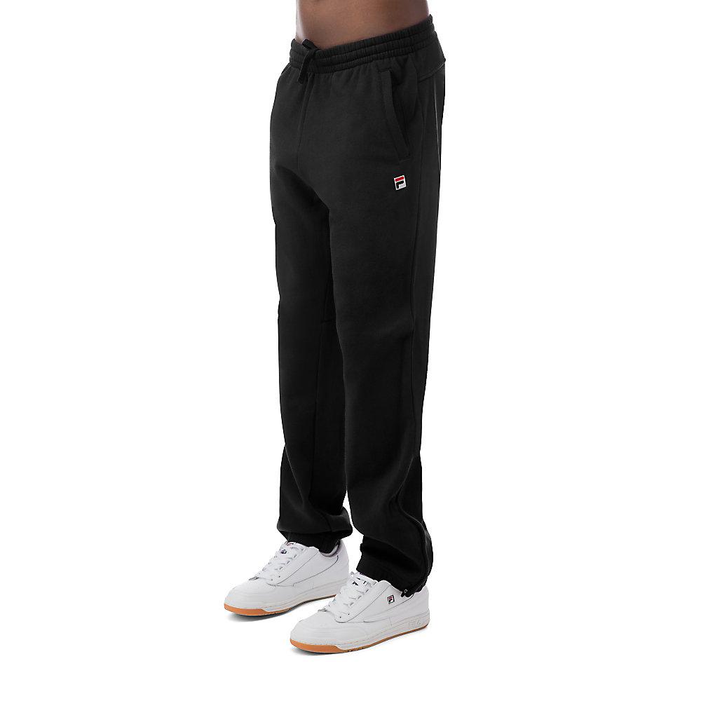 classic fleece pant in black