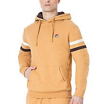 classic fleece hoody in camel