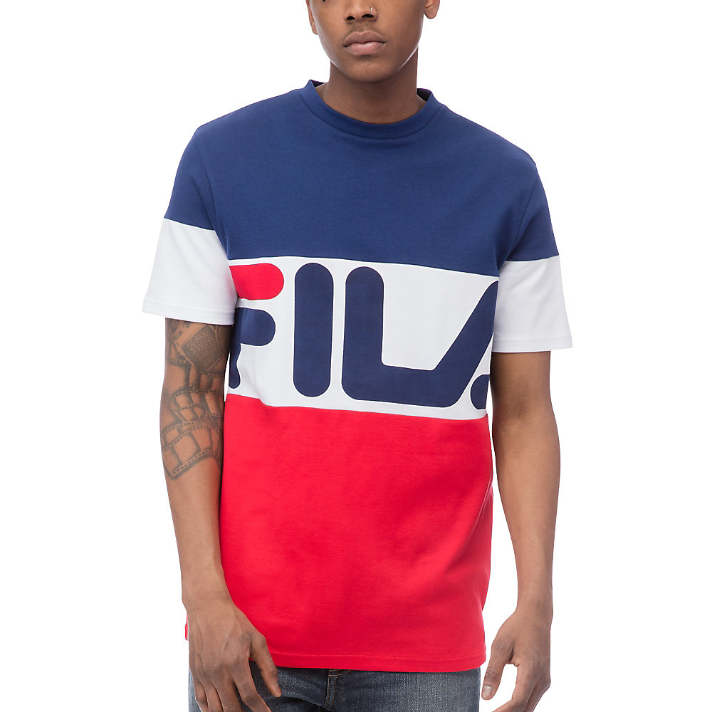 vialli tee in navy