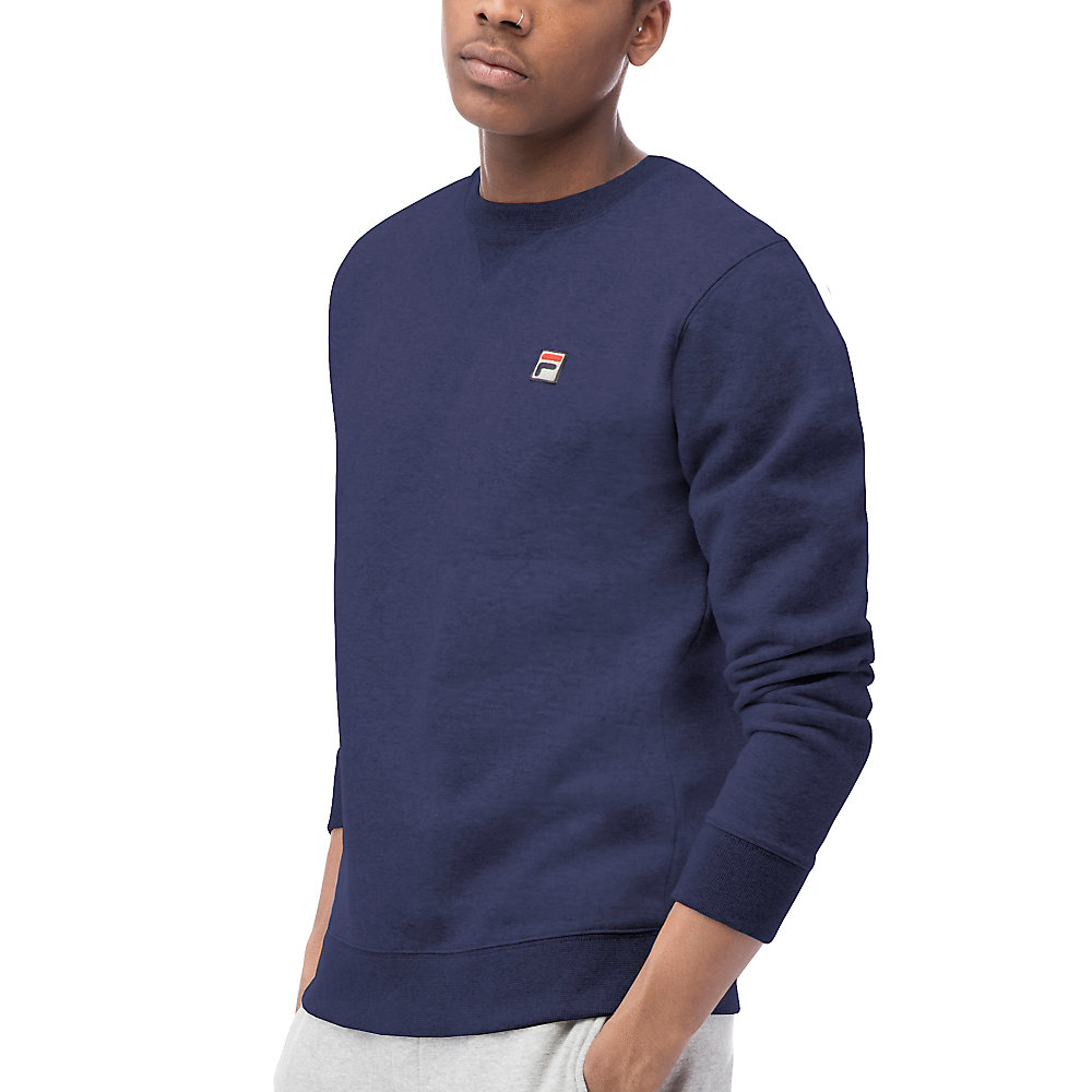 brixen crew sweatshirt in navy