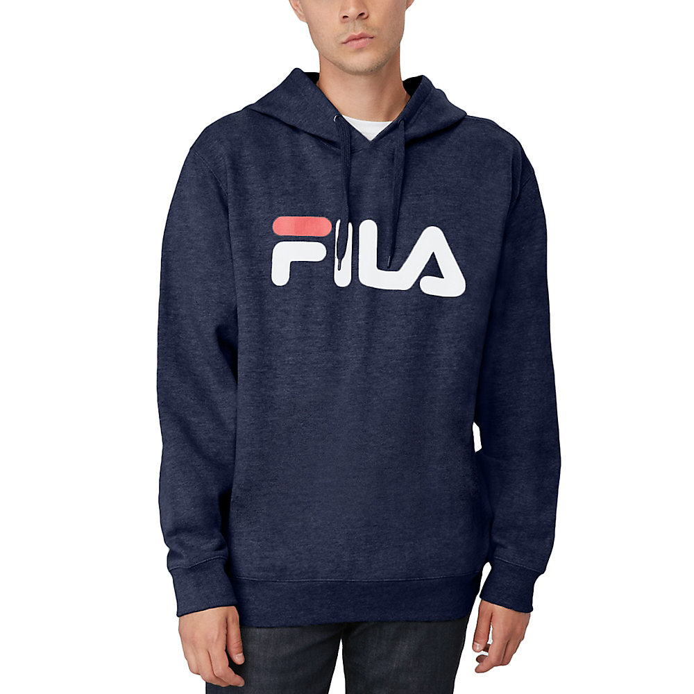 queens hoody in navy