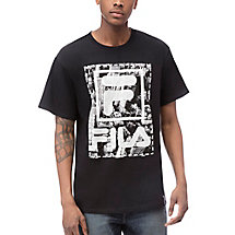 city mono tee in black
