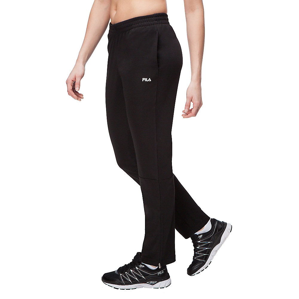 trackster pant in black