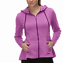 bella jacket in purplemagic