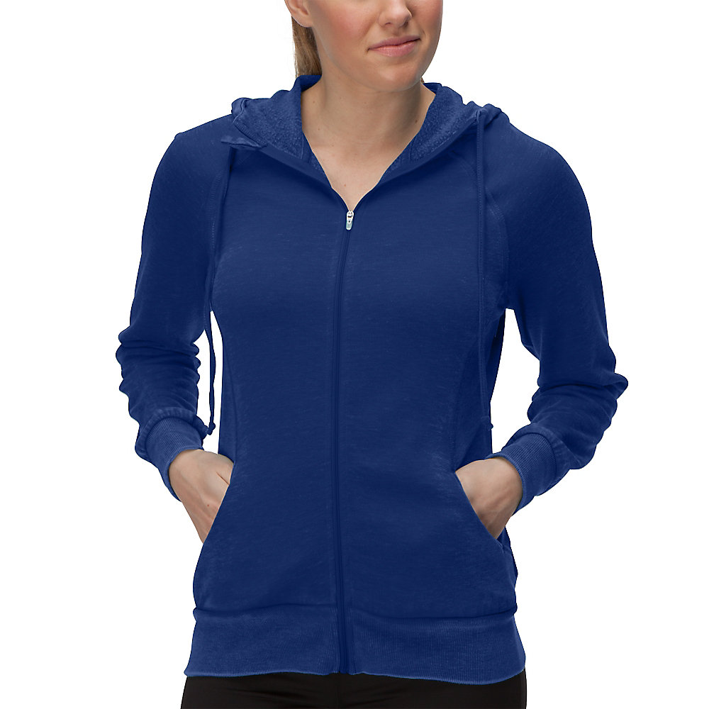 hang out hoody in cobalt