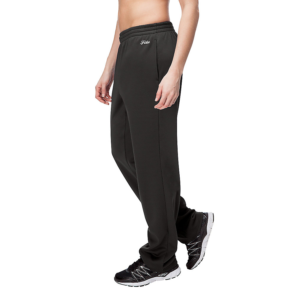 jet set pants in black