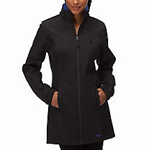 Venture long bonded jacket in purplerain