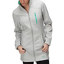 Venture long bonded jacket in grey