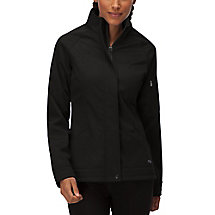 impressive bonded jacket in black