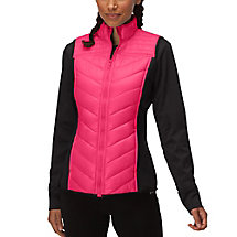 weather permitting vest in azalea