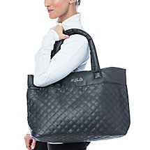 collezione quilted bag in black