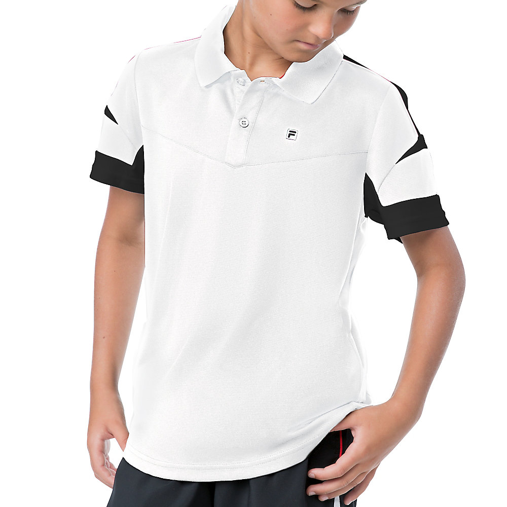 adrenaline polo in white