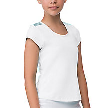 net set cap sleeve in white