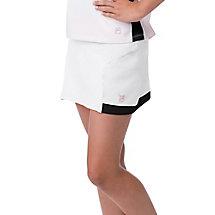 diva skort in white