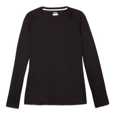 M SERVE CRESTABLE L/S CREWNECK