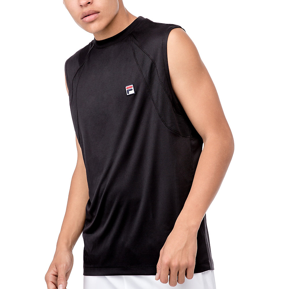 advantage sleeveless top in black