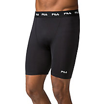 compression short in black