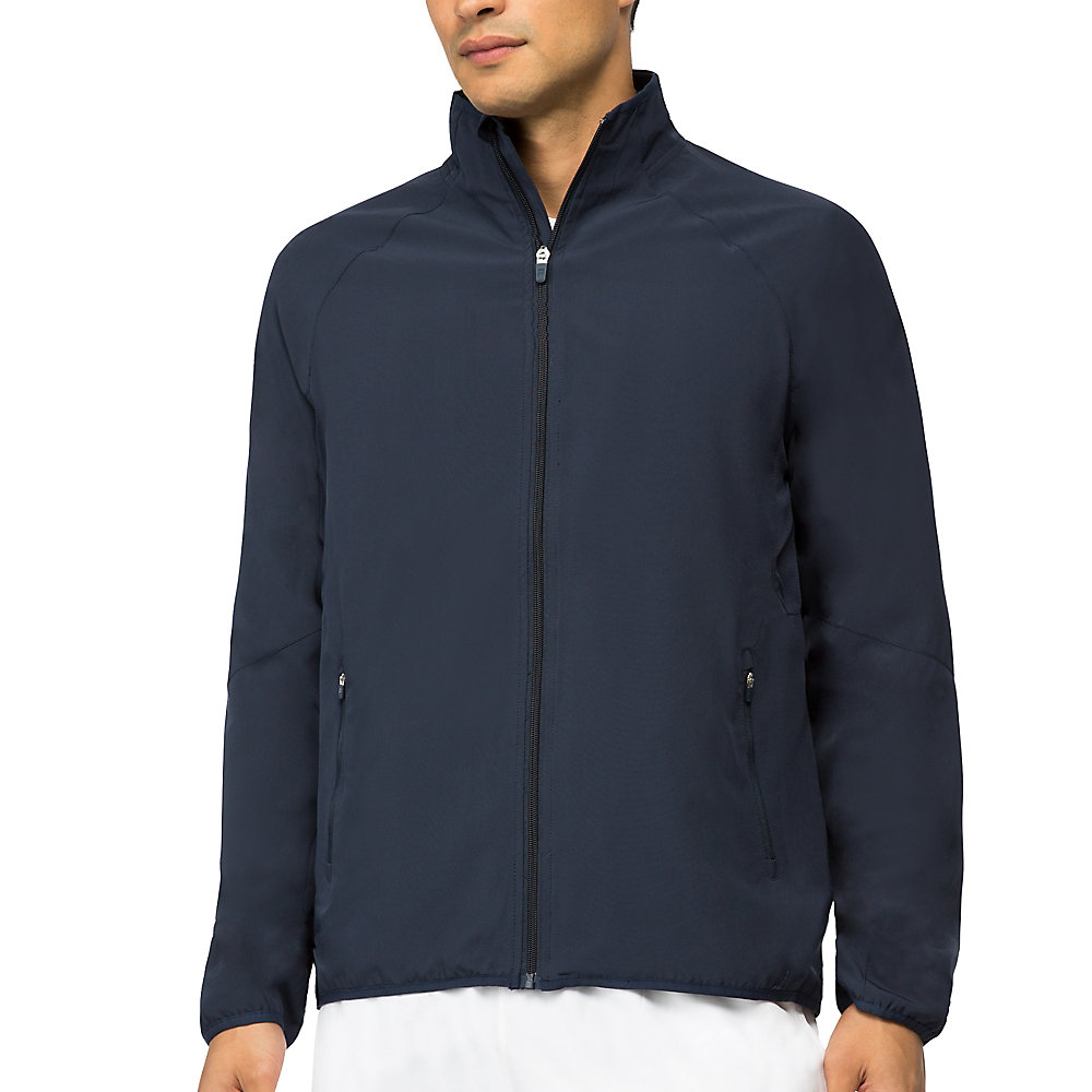 fundamental jacket in navy