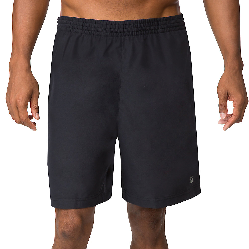 "fundamental 7"" hard court short in jetblack"