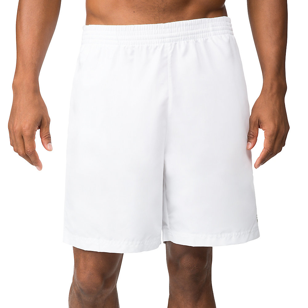 "fundamental 7"" hard court short in white"