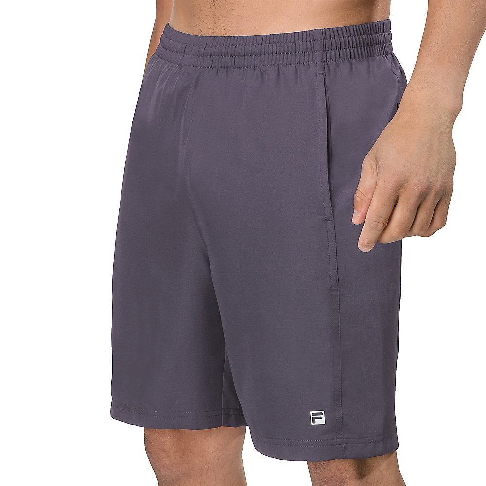 fundamental tour short in grey