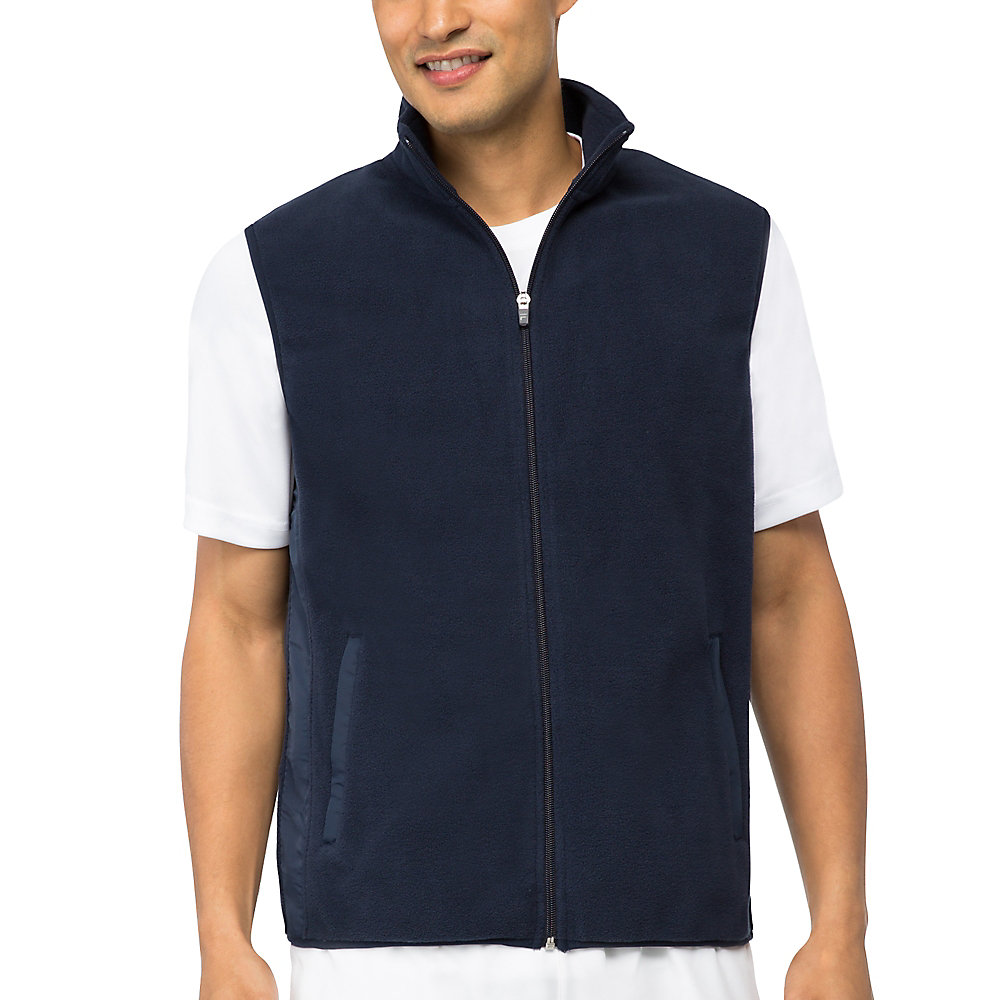 fundamental microfleece vest in filanavy