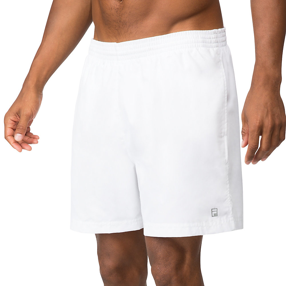 fundamental clay short in white